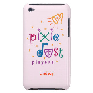 Pink Pixie Dust Players iPod Touch Case