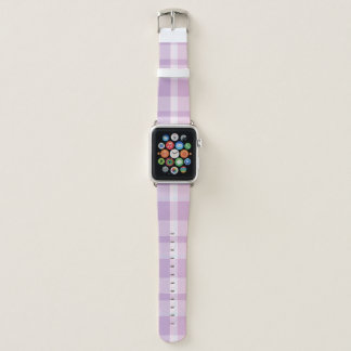 Pink Plaid Apple Watch Band
