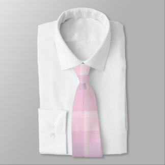 Pink Plaid Tie