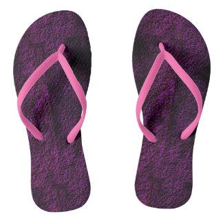 Pink Plasma Flip Flops
