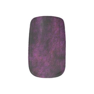 Pink Plasma Nail Sticker