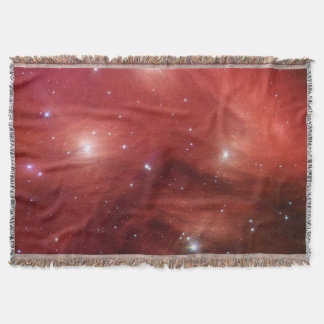 Pink Pleiades Infrared SSC2007 07b Throw Blanket