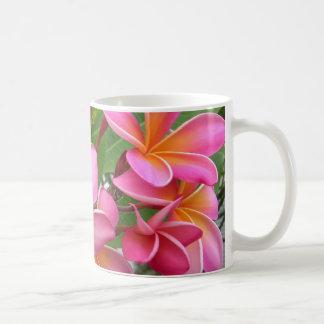 Pink Plumeria Coffee Mug