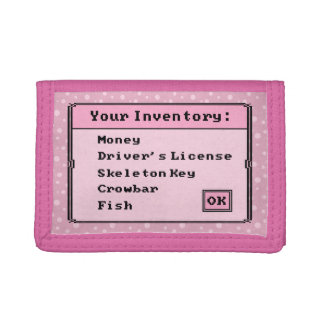 Pink Polka Dot Bottomless Magical Inventory Wallet