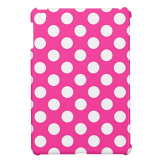 Pink Polka Dot Case For The iPad Mini
