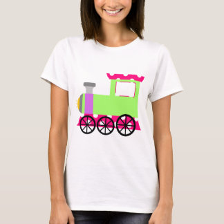 Pink Polka Dot Choo Choo Train T-Shirt
