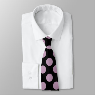 Pink Polka Dot Double Sided Tie