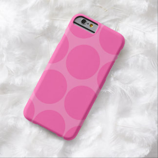 Pink Polka Dot iPhone 6 case