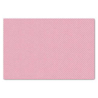 Pink Polka Dot Pattern Tissue Paper