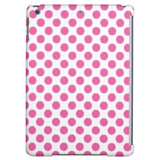 Pink Polka Dots iPad Air Cases