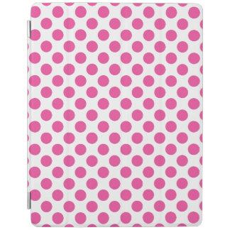 Pink Polka Dots iPad Cover