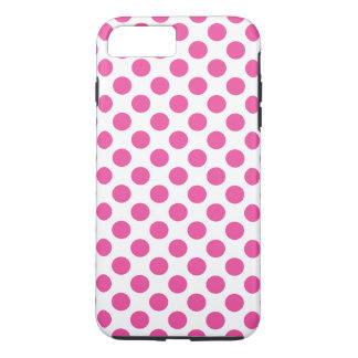 Pink Polka Dots iPhone 8 Plus/7 Plus Case
