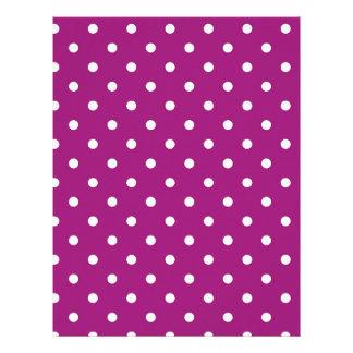 Pink Polka-dots Letterhead