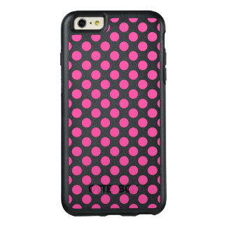 Pink Polka Dots OtterBox iPhone 6/6s Plus Case