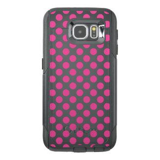 Pink Polka Dots OtterBox Samsung Galaxy S6 Case