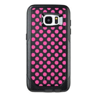 Pink Polka Dots OtterBox Samsung Galaxy S7 Edge Case