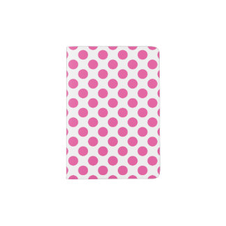 Pink Polka Dots Passport Holder