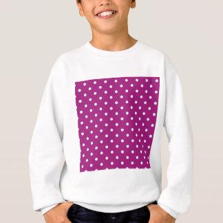 Pink Polka-dots Sweatshirt