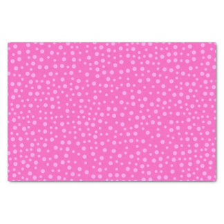Pink Polka Dots Tissue Paper