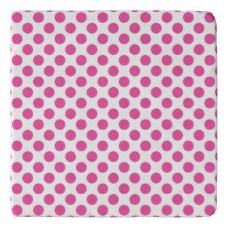 Pink Polka Dots Trivet
