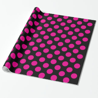Pink Polka Dots Wrapping Paper