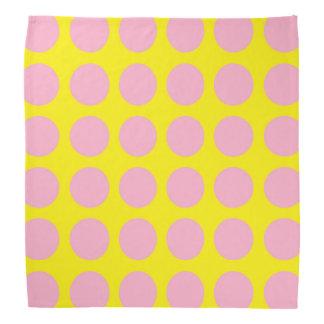 Pink Polka Dots Yellow Do-rag