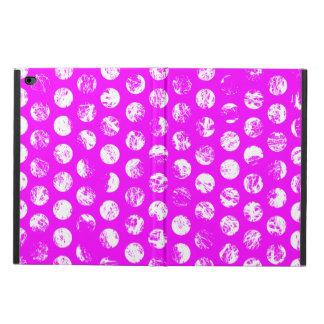 pink  polkadots square powis iPad air 2 case