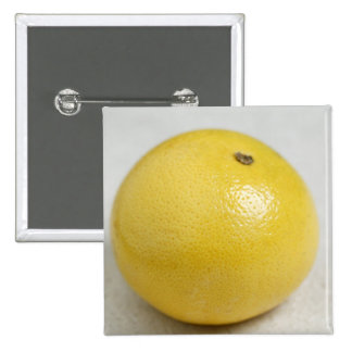 Pink pomelo For use in USA only.) 2 Inch Square Button