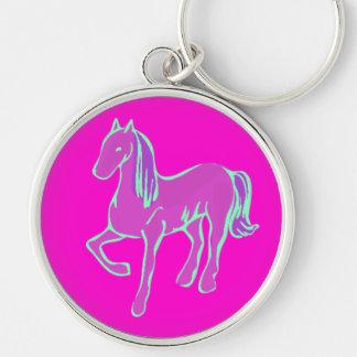 Pink Pony Keychain