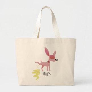 Pink Pooch Tote Bag
