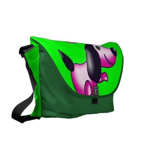pink pooch messenger bags