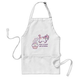 Pink Pooping Unicorn Standard Apron