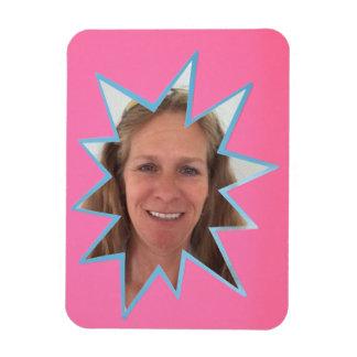 Pink Pop Out Photo Frame Magnet