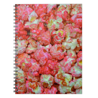 Pink popcorn notebook