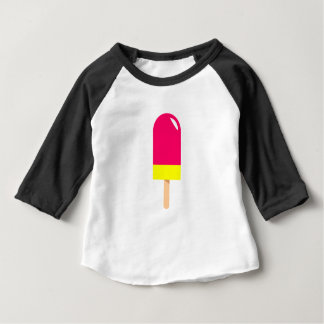 Pink Popsicle Drawing Baby T-Shirt