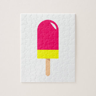 Pink Popsicle Drawing Jigsaw Puzzle