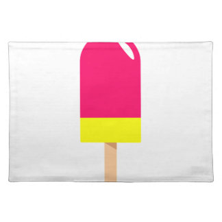 Pink Popsicle Drawing Placemat