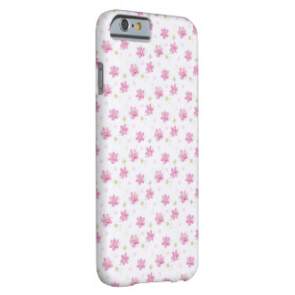 Pink Posies Barely There iPhone 6 Case