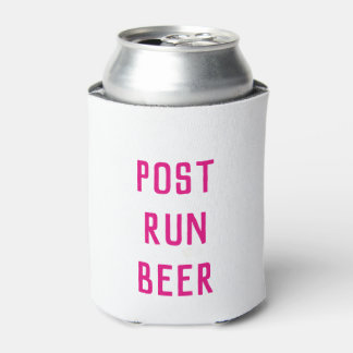 Pink Post Run Can Cooler