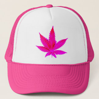 Pink Pot Trucker Hat