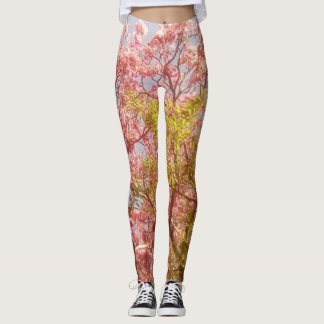 Pink Poui (TT) Leggings
