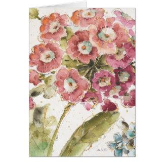 Pink Primrose Card
