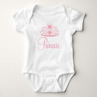 Pink Princess Baby Onsie Bodysuit