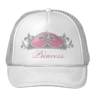 Pink Princess Crown with Diamonds Ladies Hat