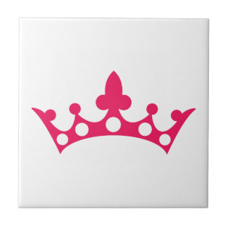 Pink Princess Tiara Tile