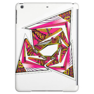 Pink Psychedelic Design on iPad Air Matte Case Cover For iPad Air