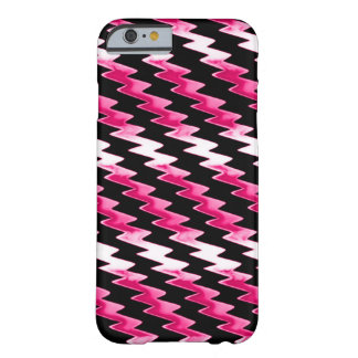 Pink Psychedelic Lightning Pattern Barely There iPhone 6 Case