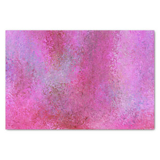 Pink & Purple Abstract Pattern Tissue Paper