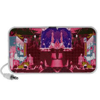 Pink Purple City Festive Decorations Celebrations Speaker System