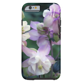 Pink Purple Columbine flowers Tough iPhone 6 Case